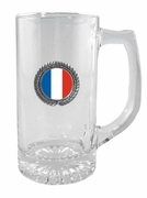 France-French Glass Stein