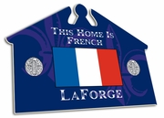 France-French House Sign
