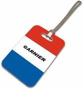 France-French Luggage Tag