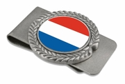 France-French Pewter Money Clip