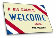 France-French Welcome Mat