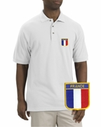 France Patch Polo