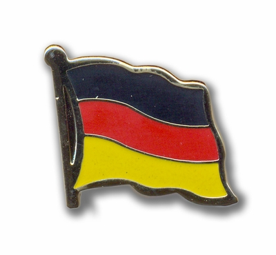 Germany Flags Pin