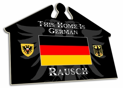 Germany House Sign