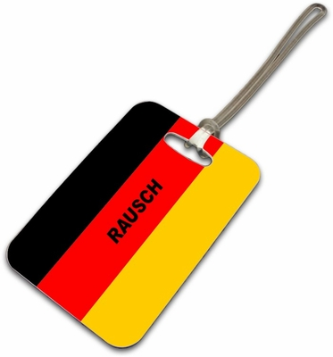 Germany Luggage Tag