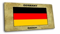 Germany Vintage Metal Short Sign