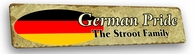 Germany Vintage Metal Sign
