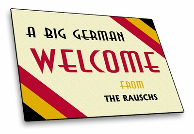 Germany Welcome Mat