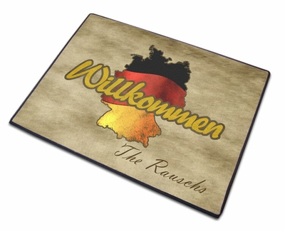 Germany Welcome Mat- Classic