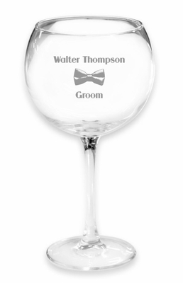 Giant Groom Wine Glass