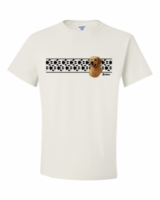 Golden Paw Prints Shirt