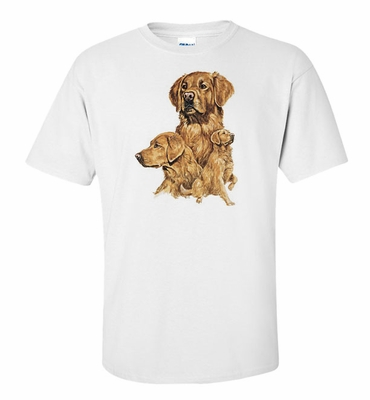 Golden Retriever Profile Shirt