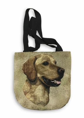 Golden Retriever Tapestry Tote Bag