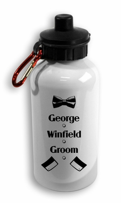Groom Aluminum Water Bottle