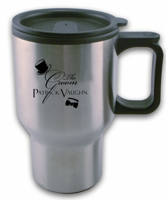 Groom Travel Mug