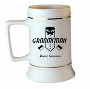 Groomsman Collectors Stein