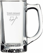 Groomsmen Gifts Glass Engraved Mug