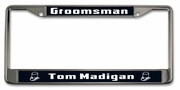 Groomsmen Gifts License Plate Frame