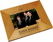 Groomsmen Gifts Wood Picture Frame