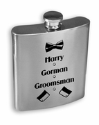 Groomsmen Stainless Steel Flask