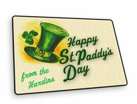 Happy St. Paddy's Day Welcome Mat
