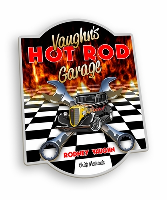 Hot Rod Garage Pub Sign