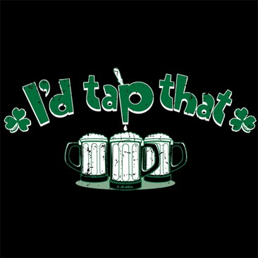 I'd Tap That ~Beer Mugs