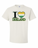 "I ""Heart"" Ireland Shirts"