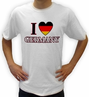 I Love Germany Vintage Shirts