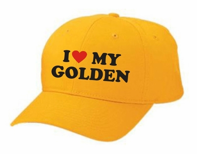 I Love My Golden Hat