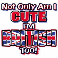 I'm British Too Shirt