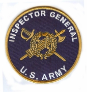 Inspector General Patch