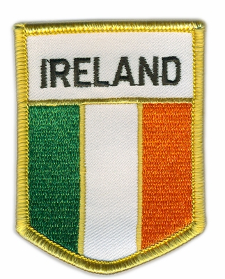 Ireland Crest Flag Patch