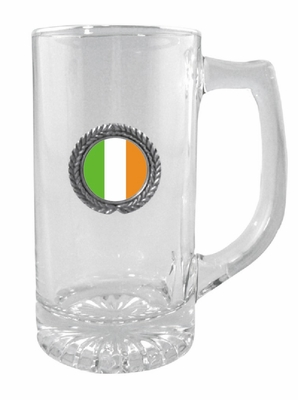 Ireland Glass Stein