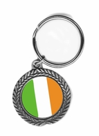 Ireland Pewter Key Chain
