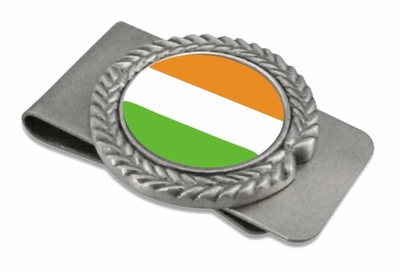 Ireland Pewter Money Clip