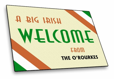 Ireland Welcome Mat