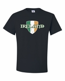 Ireland with Flag Shield Shirts