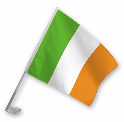 Irish Car Flag