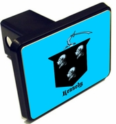 Irish Family Crest Trailer Hitch Covers