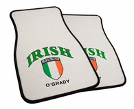 Irish Flag Car Mats