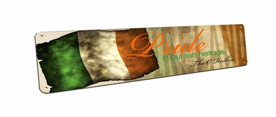 Irish Heritage pride Vintage Sign