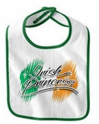 Irish Princess Flag Bib