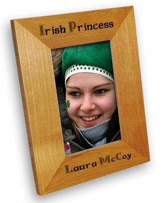 Irish Princess Picture Frame