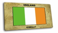 Irish Vintage Metal Short Sign