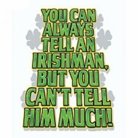 Irishman-Can't Tell Much
