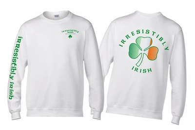 Irresistibly  Irish Crewneck Sweatshirt