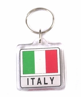 Italy Lucite Keyring