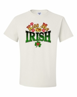 Kiss Me I'm Irish with Red Lips Shirts