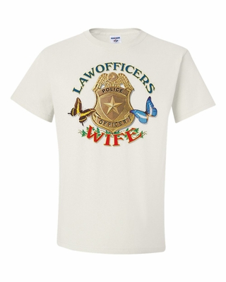 Law Officer's Wife Shirts